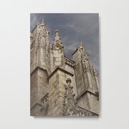 St. Peter's Cathedral of Vannes – Brittany, France Metal Print