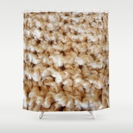 Wool 2 Shower Curtain