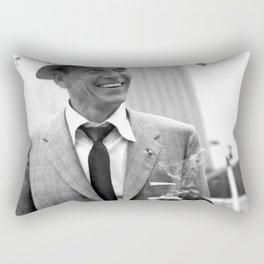 Sinatra at Rehearsals Rectangular Pillow