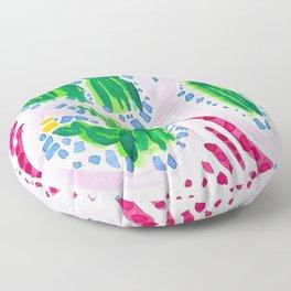 Flirty Girls Floor Pillow
