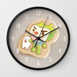 Icing Cookie Wall Clock