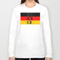 german Long Sleeve T-shirts featuring German Horsepower by Blayde