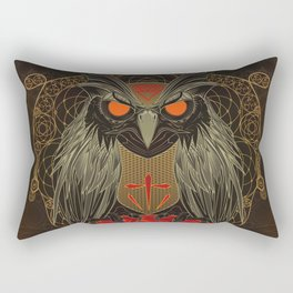 If you seek for diamonds and shiny stuff just look into owls eyes  Rectangular Pillow