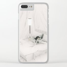 Dreams of Days Past Clear iPhone Case