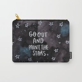 Go out and Paint the Stars Carry-All Pouch