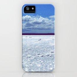 Salty horizon iPhone Case
