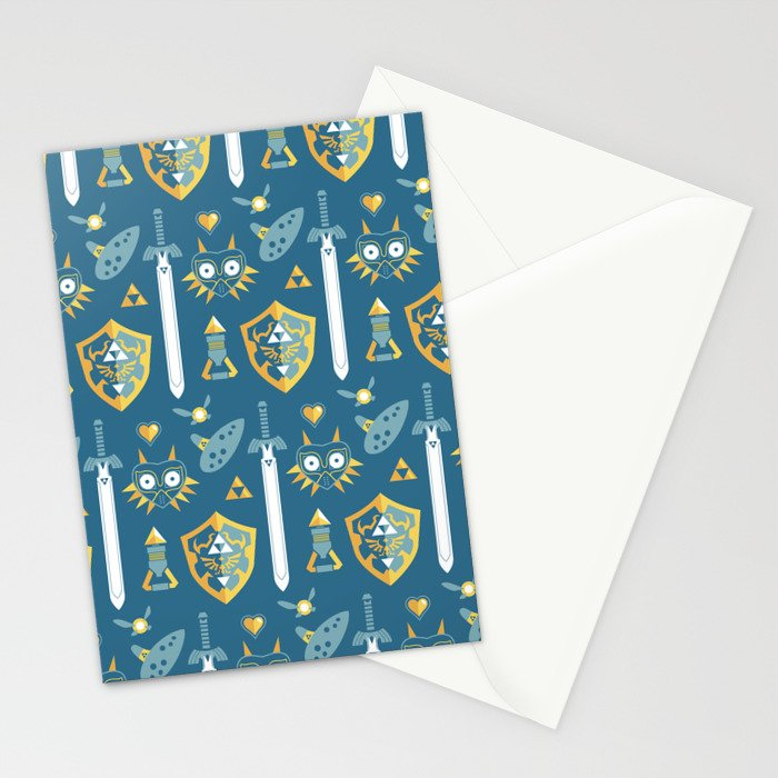 A Hero's Arsenal Stationery Cards