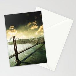 golden gate bridge in san francisco Stationery Cards