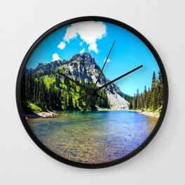 Naure Landscape Wall Clock