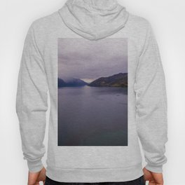 Lake Hawea lake wakatipo blue crystal clear panorama Hoody