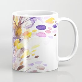Fall Floral Watercolor Coffee Mug