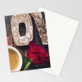 Valentine's day composition Stationery Cards