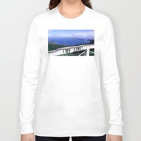 philippines Long Sleeve T-shirts featuring OFF LIMIT (Philippines) by Julie Maxwell