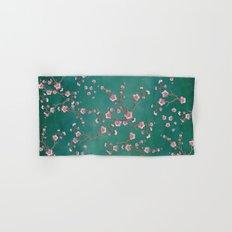 SAKURA LOVE - GREEN Hand & Bath Towel