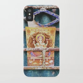 Ganesha in Kolkata India iPhone Case