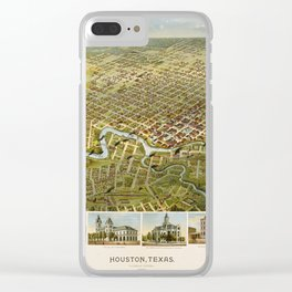 Houston 1891 Clear iPhone Case