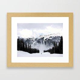 Montain Trek Framed Art Print