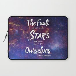 The Fault is not in our Stars, Dear Brutus Laptop Sleeve