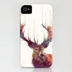 Red Deer // Stag Slim Case iPhone (4, 4s)