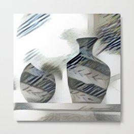 Two Vases Metal Print