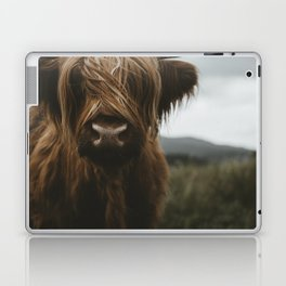 Scottish Highland Cattle Laptop & iPad Skin