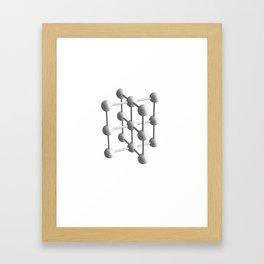 Tubes Framed Art Print
