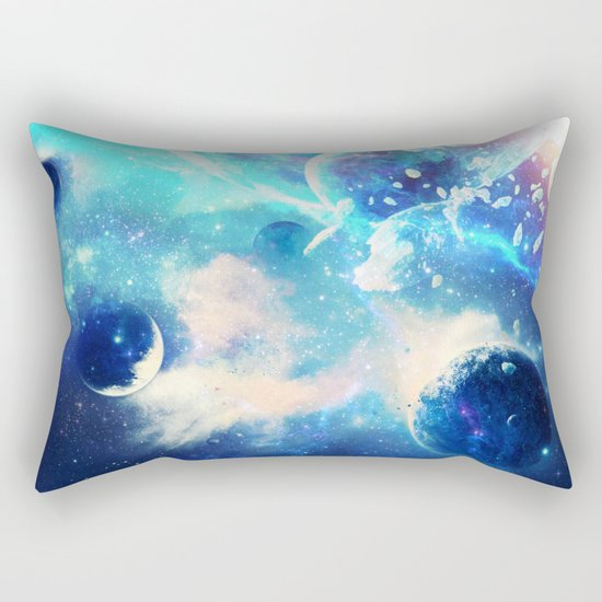 Planets Dimension Rectangular Pillow