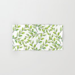 Branches and Leaves Hand & Bath Towel