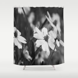 Gaggle of flowers too Shower Curtain
