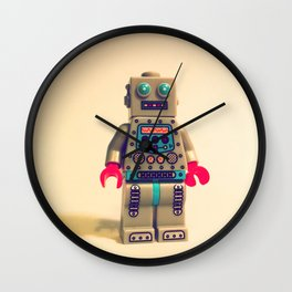 Robot 2000 Wall Clock
