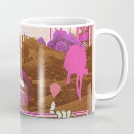 MORNING PSYCHEDELIA (Purple/pink) Coffee Mug