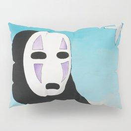 No Face & Paper Birds Pillow Sham