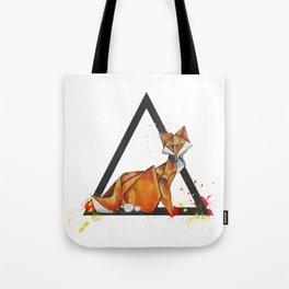 Paper Fox- Wild World Of Paper Series Tote Bag