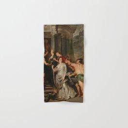 Peter Paul Rubens - La Conclusion de la paix a Angers le 10 août 1620 Hand & Bath Towel