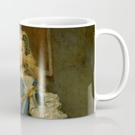 "Diego Velázquez ""Infanta Margarita Teresa in a Blue Dress"" Coffee Mug"
