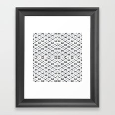 Digital Square Framed Art Print