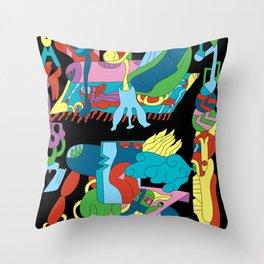Wunderkammer Throw Pillow