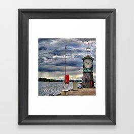 Layered sky Framed Art Print