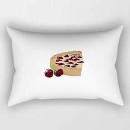 Cherry Tart Rectangular Pillow