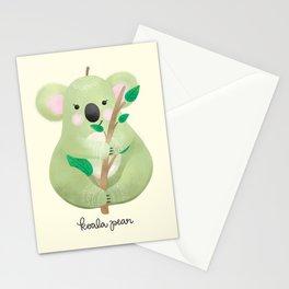 Koala Pear Stationery Cards
