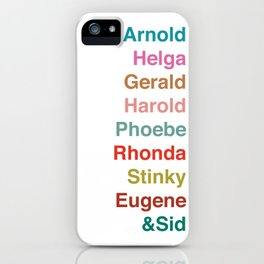 HEY ARNOLD! iPhone Case