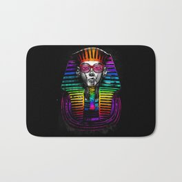 The King of Colors Bath Mat