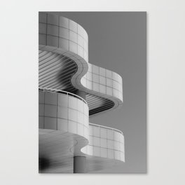 Getty Exterior No.1 Canvas Print