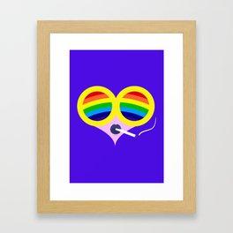 Rainbow Cigs Framed Art Print