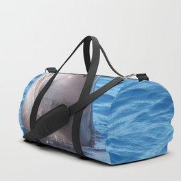 Cute wild pilot whale baby Duffle Bag