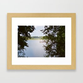 Creeping on the Dock of the Bay Framed Art Print