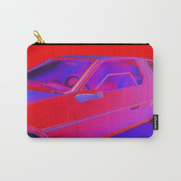 RED/BLUE CAR Carry-All Pouch