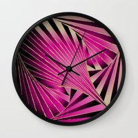 cocktail Wall Clocks featuring Cocktail  by HK Chik