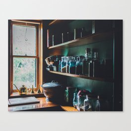 The Vintage Kitchen Canvas Print