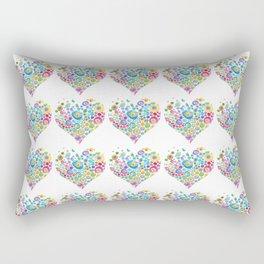 Inner Hearts Rectangular Pillow